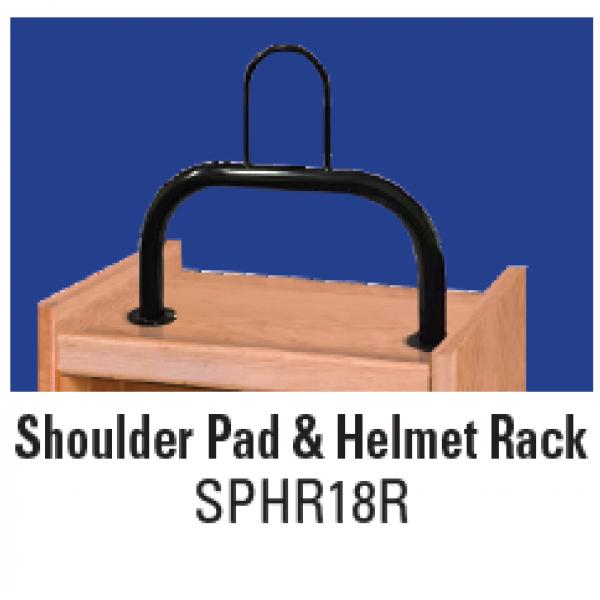 Shoulder Pad & Helmet Rack