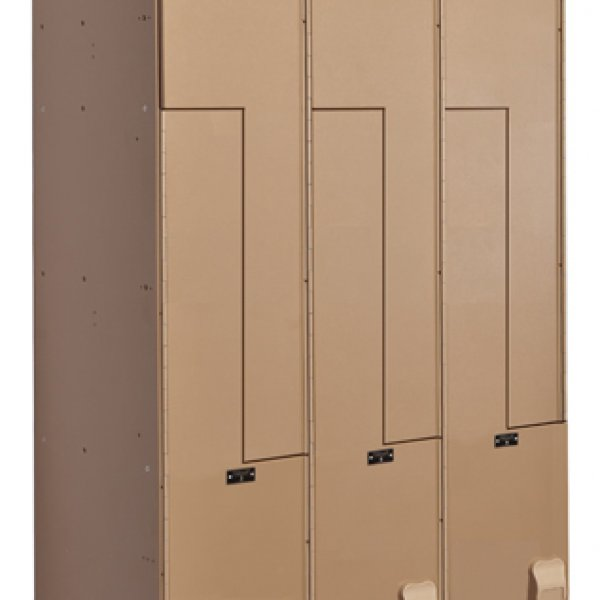 Aquamax Solid Plastic Lockers